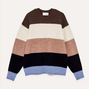 ARITZIA WILFRED FREE Cipriana Color Block Sweater size 1
